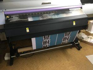 捨て看板用のターポリン印刷