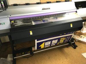 透明シートに印刷