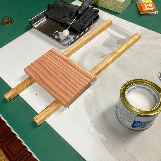 木製プレートのレーザー彫刻準備